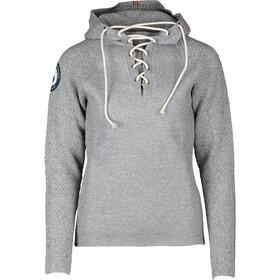 Amundsen Sports Boiled Hoodie Laced Men Light Grey